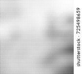 halftone black and white.... | Shutterstock .eps vector #725498659