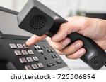 communication support  call... | Shutterstock . vector #725506894