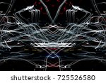 magic line magic abstract... | Shutterstock . vector #725526580