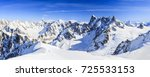 Mont Blanc Mountain  View From...