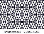 geometric ethnic pattern... | Shutterstock .eps vector #725534653
