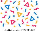 bright colorful seamless... | Shutterstock .eps vector #725535478