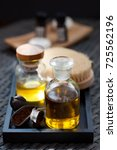 essential oil aromatherapy in a ... | Shutterstock . vector #725562196