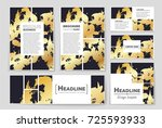 abstract vector layout... | Shutterstock .eps vector #725593933