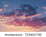 sunrise in the morning  sunrise ... | Shutterstock . vector #725601730