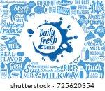 vector milk illustration   Shutterstock .eps vector #725620354