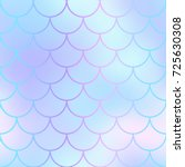 mermaid skin or fish scale... | Shutterstock .eps vector #725630308
