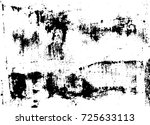 distressed rustic used texture. ... | Shutterstock .eps vector #725633113