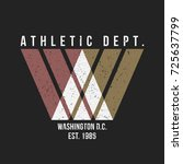 washington typography for t... | Shutterstock .eps vector #725637799