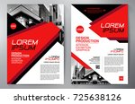 business brochure. flyer design.... | Shutterstock .eps vector #725638126
