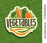vector logo for fresh... | Shutterstock .eps vector #725650054