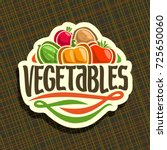 vector logo for fresh... | Shutterstock .eps vector #725650060