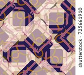 new colorful seamless pattern... | Shutterstock .eps vector #725661910