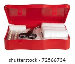 first aid kit | Shutterstock . vector #72566734
