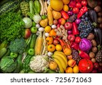Fruits And Vegetables Large...