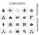 set of 20 editable community...