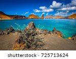 the galapagos islands. ecuador. ... | Shutterstock . vector #725713624