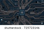 Vector Eps10.circuit Board....