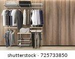 3d rendering minimal... | Shutterstock . vector #725733850