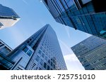 london office building... | Shutterstock . vector #725751010