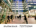 london train and office... | Shutterstock . vector #725751064