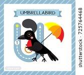 letter u uppercase cute...   Shutterstock .eps vector #725764468