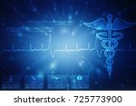 2d illustration health care and ... | Shutterstock . vector #725773900