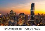 Cityscape View Of Bangkok...