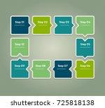 vector progress background....   Shutterstock .eps vector #725818138