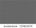 raster colorful symmetrical... | Shutterstock . vector #725823370