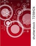 christmas background | Shutterstock .eps vector #7258426