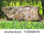 Stone  Big Stone On Green Gras...