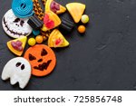 Halloween Background With Candy