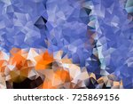 vector multicolored abstract...   Shutterstock .eps vector #725869156