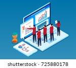 research team | Shutterstock .eps vector #725880178
