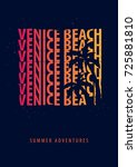 Venice Beach Summer Graphic...