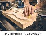 Manufacture Of Guitars. Markin...
