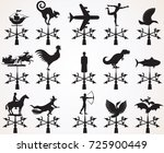 hand drawn image. set of... | Shutterstock .eps vector #725900449