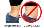 Small photo of Weight loss, diet, abdominoplasty.