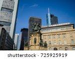 frankfurt am main  germany  ... | Shutterstock . vector #725925919