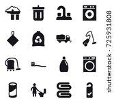 16 vector icon set   factory... | Shutterstock .eps vector #725931808