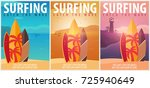 Surfing Banner And Poster....