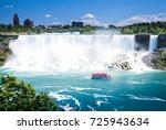 american falls  niagara falls ... | Shutterstock . vector #725943634