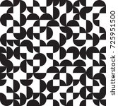 geometric background  circles ... | Shutterstock .eps vector #725951500