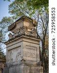 paris  france   april 18  2015  ...   Shutterstock . vector #725958553