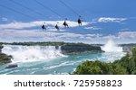 Zipline Ride At Niagara Falls...
