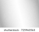 abstract halftone wave dotted... | Shutterstock .eps vector #725963563