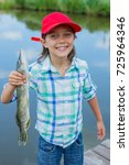 happy cute boy enjoyed the...   Shutterstock . vector #725964346
