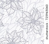 christmas vector seamless...   Shutterstock .eps vector #725965060