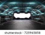3d illustration of futuristic... | Shutterstock . vector #725965858
